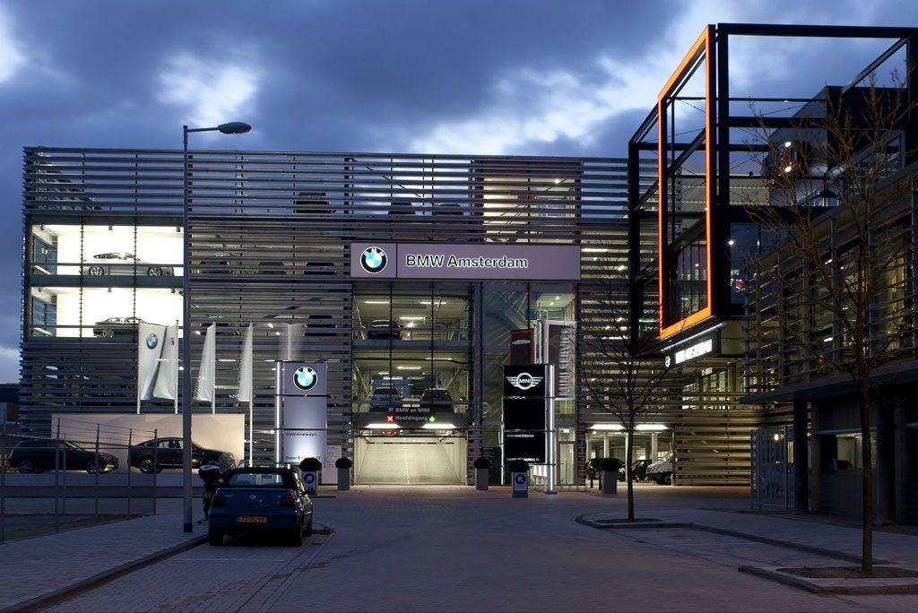 Bmw Garage Amsterdam : Bmw mini amsterdam automotive pleijsier bouw