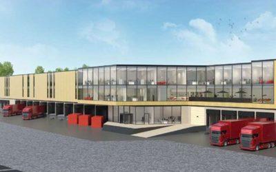 Nieuwbouw ND Logistics Nieuwegein