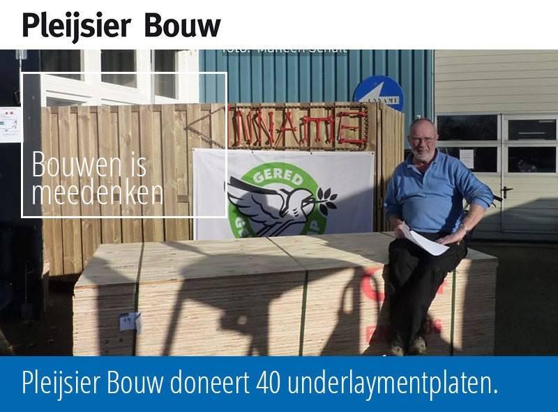 pleijsier-bouw-doneert-40-underlaymentplaten