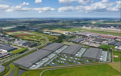Schiphol Green Mountains Logistics Park artikel in Stedenbouw