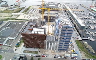 """Stedenbouw artikel """"Robuuste nieuwbouw op voormalige NDSM-werf"""""""