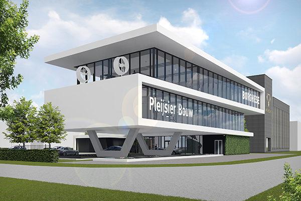Vakblad industrie bouw publiceert artikel over het nieuwe kantoor in ...