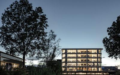 RED Company voltooit state of the art hoofdkantoor voor Danone met hoogste groene wand van Europa