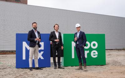 Pleijsier Bouw start bouw Max & Moore Amsterdam