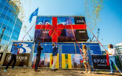 Pleijsier Bouw start bouw SPOT Amsterdam