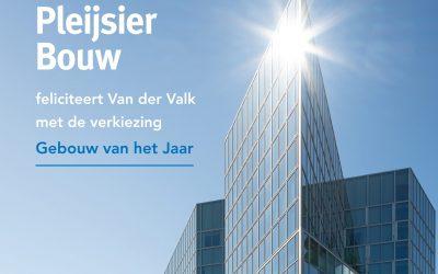 Van der Valk Zuidas verkozen als 'Beste gebouw van het Jaar'